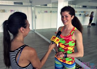 Nadia Issa Sandu cu Anten1 Constanta 2015 (luna mai)