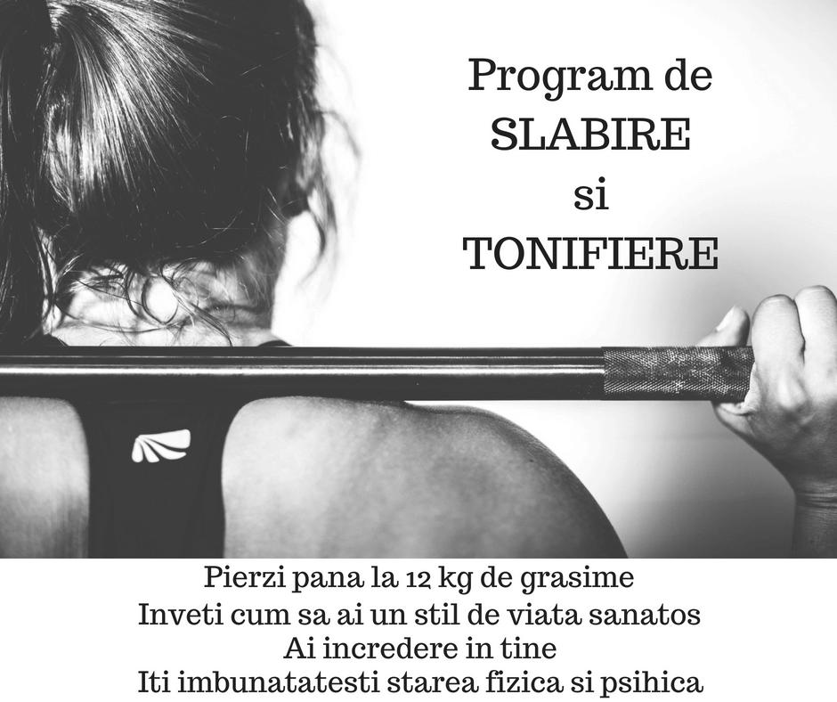 Program de SLABIRE si TONIFIRE