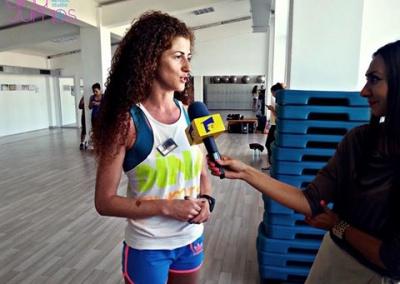 Nadia Issa Sandu cu Antena 1 Constanta 2015